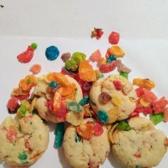 Fruity Pebbles Flavored Cookies