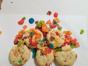 Fruity Pebbles Flavored Cookies